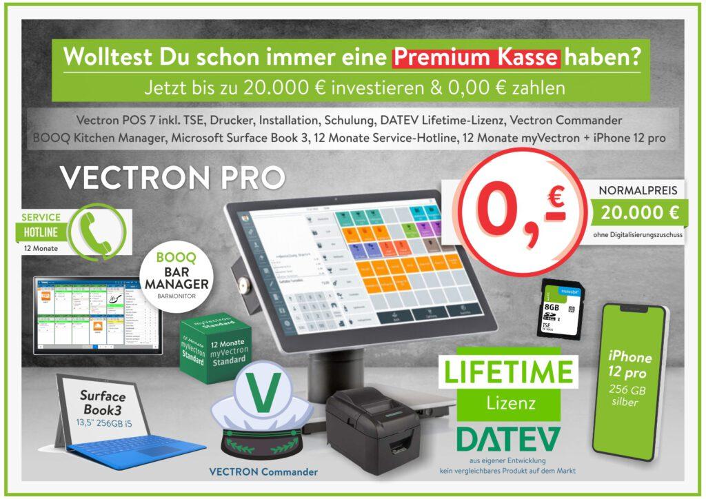 Jetzt Premium Kasse mit Fördermitteln für Digitalisierung komplett finanzieren